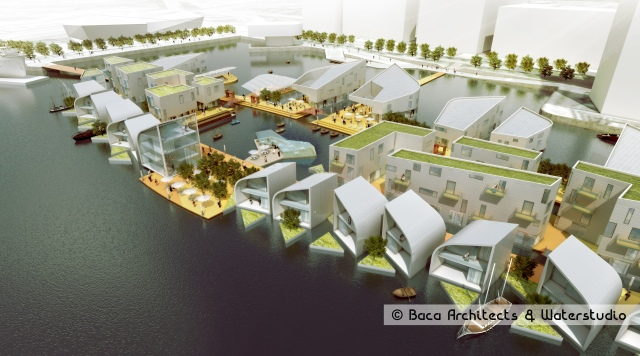 ©Baca Floating Village [3]-village blue