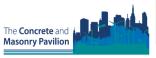 ecobuild 2015 - Concrete and Masonry Pavilion Logo